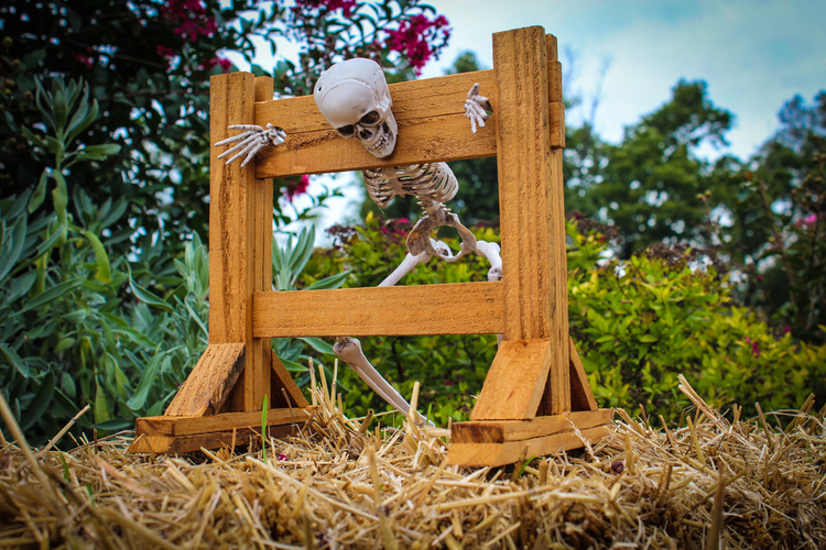 Mini Pillory (Stocks) 3D Print 195418