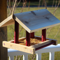 Small Bird Feeder 3D Printing 195487