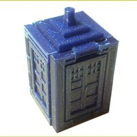 Small Foldable Tardis 3D Printing 19555