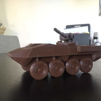 Small Stryker M1128 Mobile Gun System Battlefield  3D Printing 195552