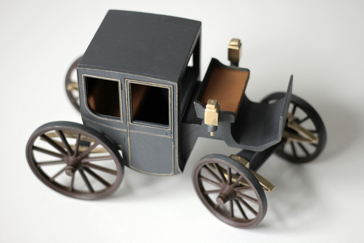 Brougham carriage 3D Print 195609