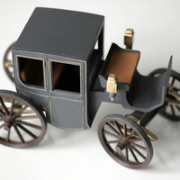 Small Brougham carriage 3D Printing 195609