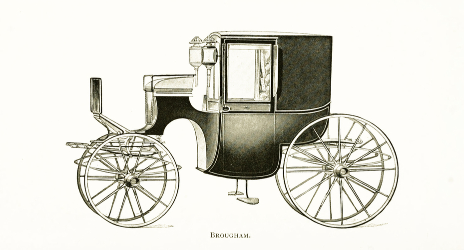 Brougham carriage 3D Print 195612