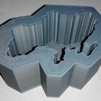 Small Mold for Ukraine-candle 3D Printing 195622