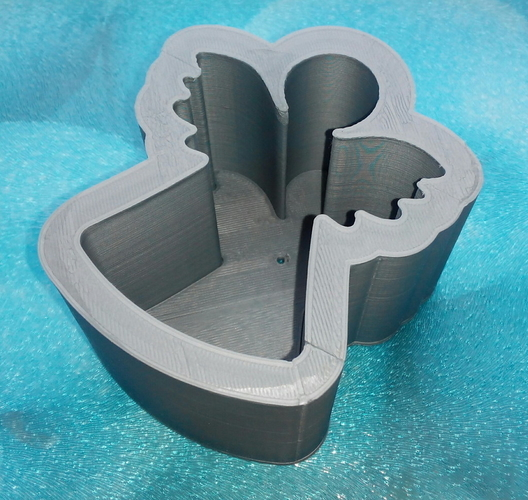 Mold for angel-candle 3D Print 195624