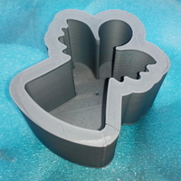 Small Mold for angel-candle 3D Printing 195624