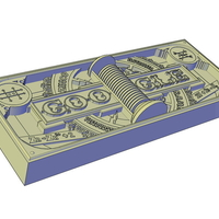 Small GOOGLE DOODLES - ALESSANDRO VOLTAS 270TH BIRTHDAY 3D Printing 195634