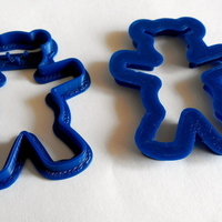 Small Bear Hug Cookie Cutter 3D Printing 195672