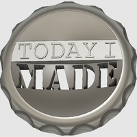Small Today I Made - Maker Coin 3D Printing 195698