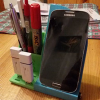 Small Smartphone holder and accessories 3D Printing 195754