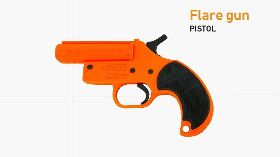 Amazing PUBG Flare Gun Prop 3D Print 195821