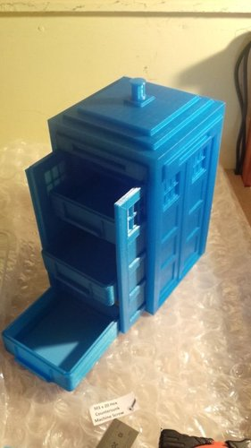 Tardis with drawers 3D Print 19584