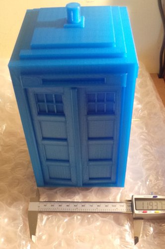 Tardis with drawers 3D Print 19585
