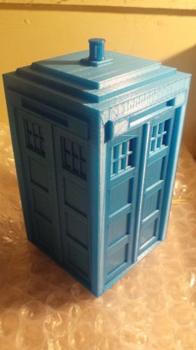 Tardis with drawers 3D Print 19586