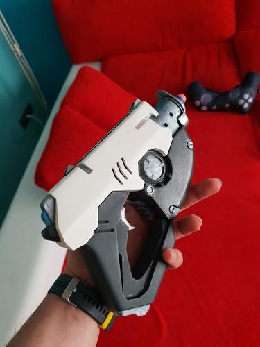Overwatch Tracer Pulse gun NERF mod 3D Print 195867