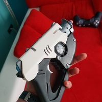Small Overwatch Tracer Pulse gun NERF mod 3D Printing 195867