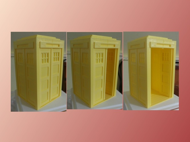 Tardis with doors 3D Print 19594