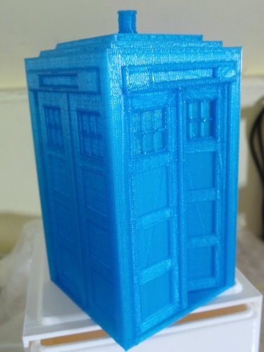 Tardis with doors 3D Print 19596