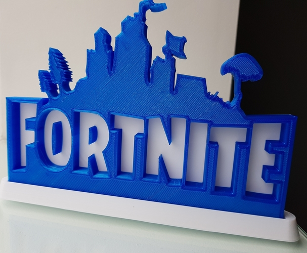 Solidback Fortnite Remix - With Base 3D Print 195966