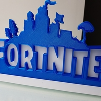Small Solidback Fortnite Remix - With Base 3D Printing 195966