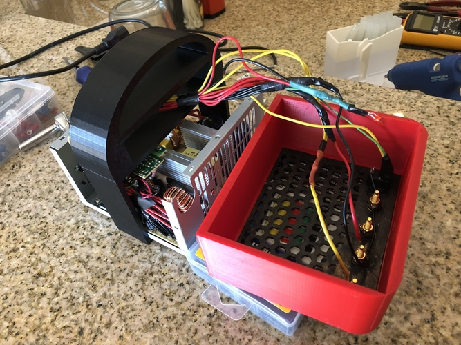 Another ATX Bench Power Supply w Cord Storage 3D Print 195969