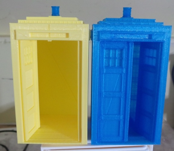 Tardis with doors 3D Print 19597