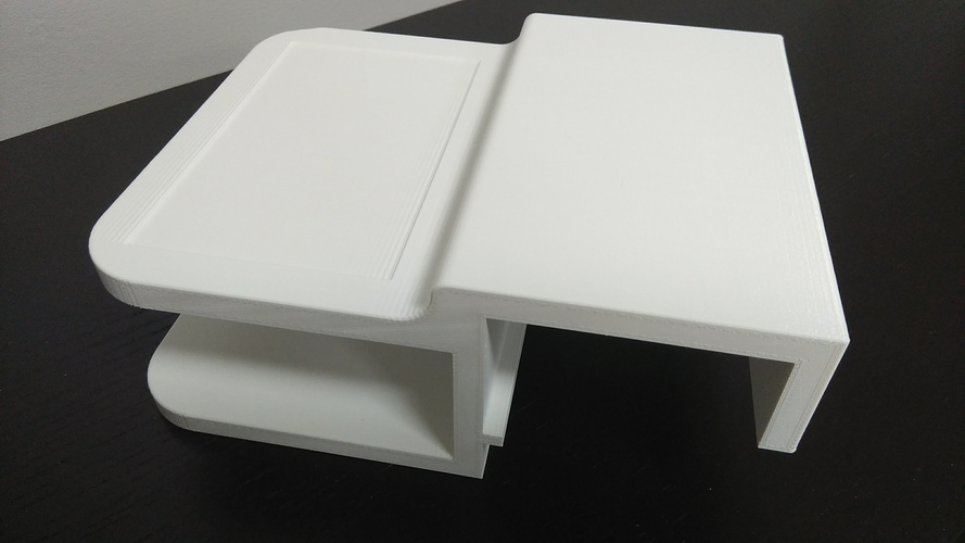 Ikea Malm Bed Shelf 3D Print 195987