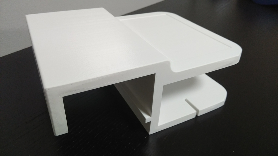 Ikea Malm Bed Shelf 3D Print 195988