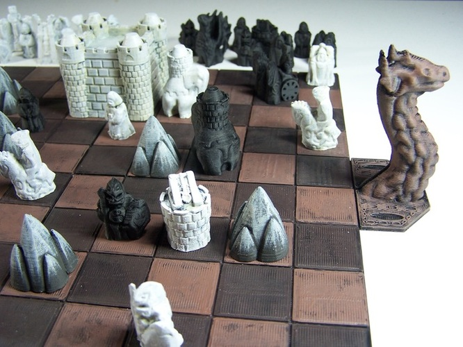 George R. R. Martin's Cyvasse (unofficial game) 3D Print 1960