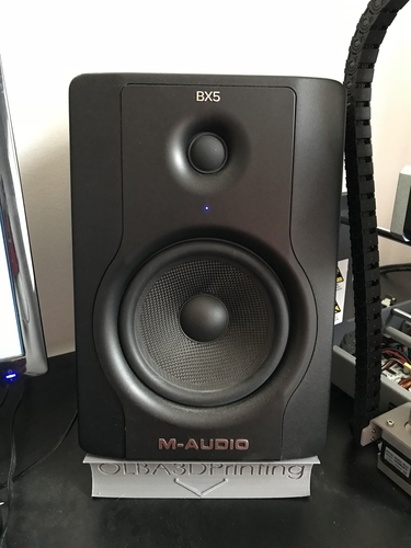 M-Audio BX5 D2 Speaker Stand (with Logo) 3D Print 196020