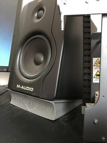 M-Audio BX5 D2 Speaker Stand (with Logo) 3D Print 196021