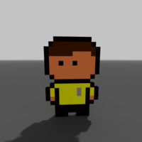 Small Captain Kirk 3D Printing 196077