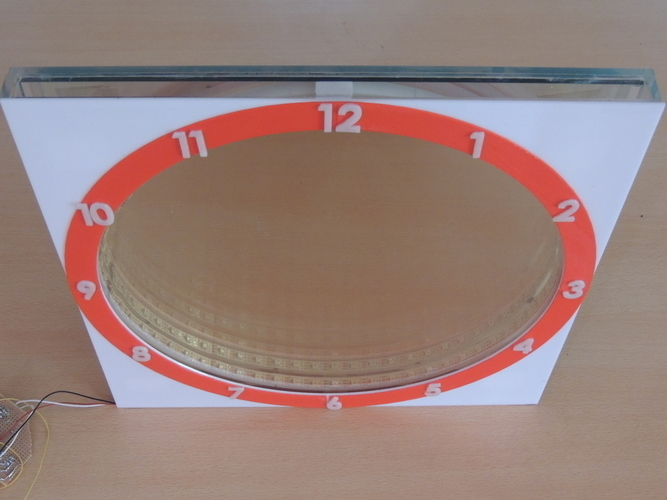 INFINITY MIRROR CLOCK UPDATED VERSION 3D Print 196148