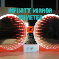 Small INFINITY MIRROR VU METER MUSIC EQUALIZER 3D Printing 196151