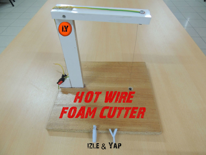 EASY & CHEAP FOAM CUTTER 3D Print 196157