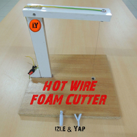 Small EASY & CHEAP FOAM CUTTER 3D Printing 196157
