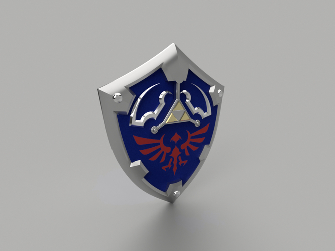 HYLIAN SHIELD from the Legend Of Zelda (Life size)  3D Print 196174