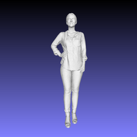 Small Printle Femme 005 3D Printing 196213