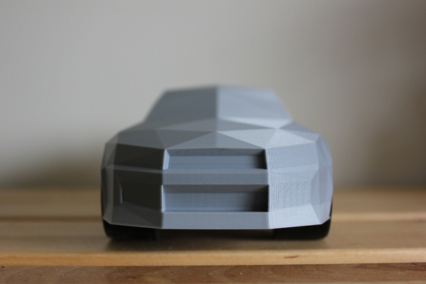 Medium Low-Poly Nissan Skyline R34 GTR 3D Printing 196304