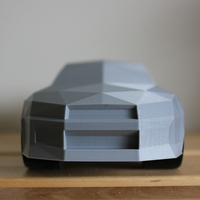Small Low-Poly Nissan Skyline R34 GTR 3D Printing 196304
