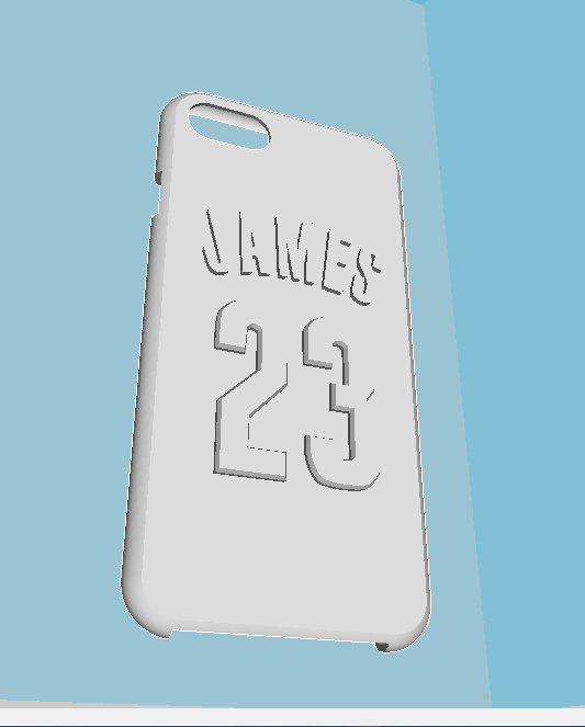 iphone 7 case LEBRON JAMES 23 3D Print 196358