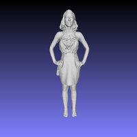 Small Printle Femme 019 3D Printing 196372