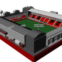 Small Leyton Orient - Brisbane Road 3D Printing 196477