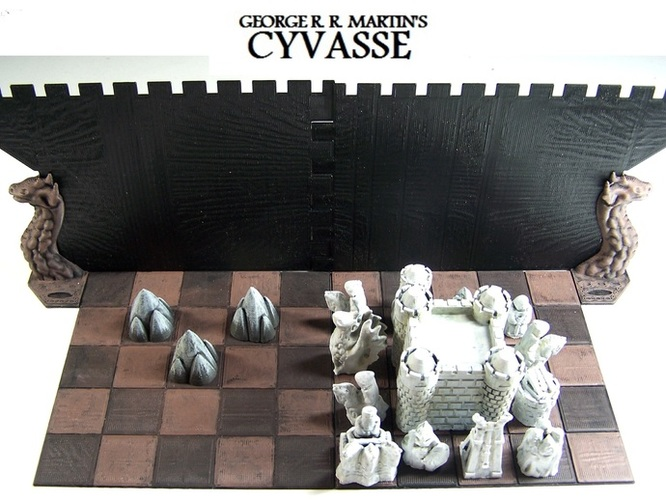 George R. R. Martin's Cyvasse (unofficial game) 3D Print 1965