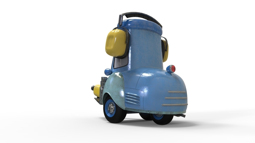 Guido Cars Forklift 3D Print 196609