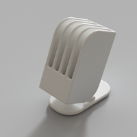 Small Comb Stand 3D Printing 196724
