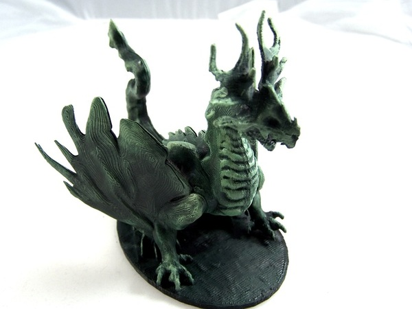 Medium Forest Dragon 3D Printing 1970