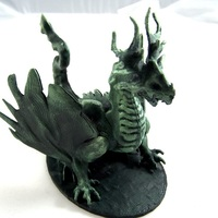 Small Forest Dragon 3D Printing 1970