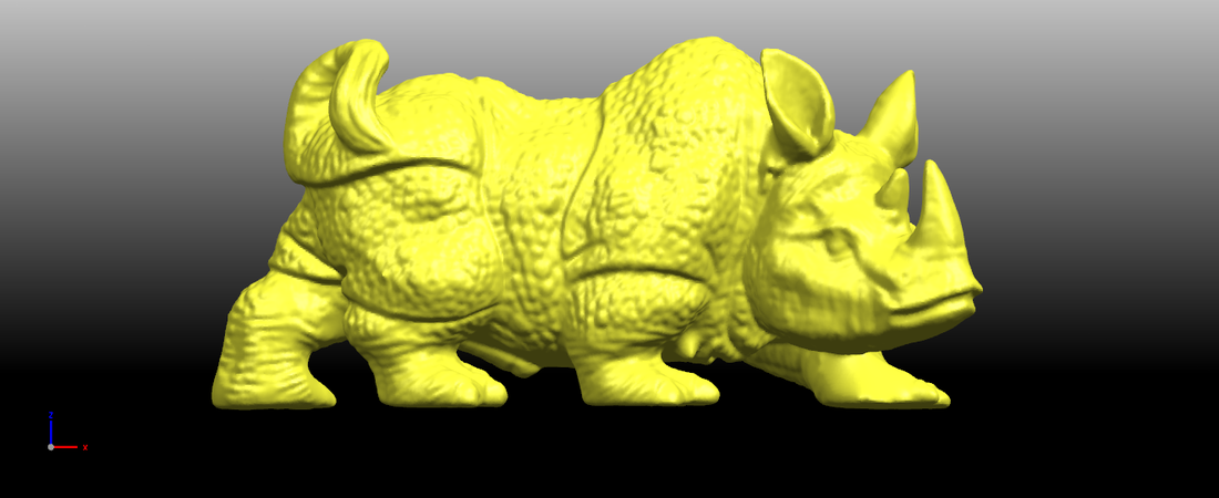 Rhinoceros 01Male 3D Print 197076