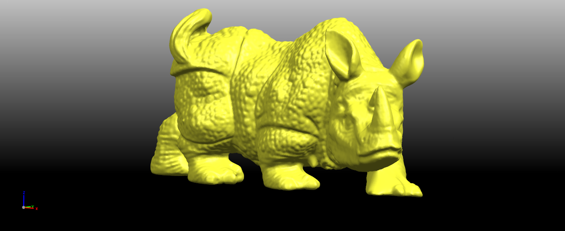 Rhinoceros 01Male 3D Print 197077